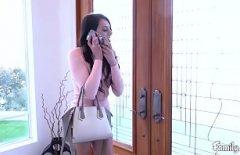 فيلم اباحي الملاعين لها لسرقة أموال الإيجار لها